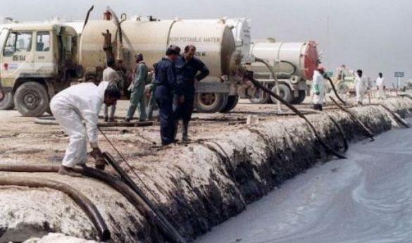 海灣戰爭中,薩達姆為何下令將石油倒入海中?看完才知多英明