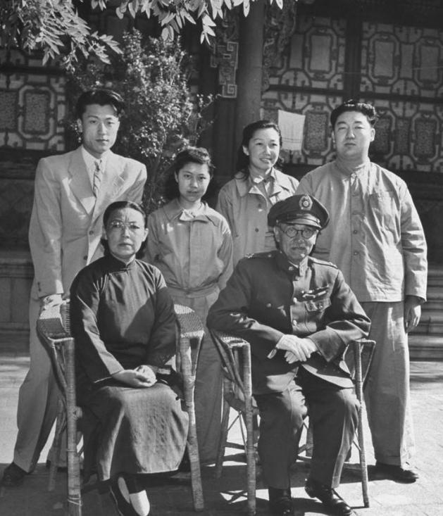閻錫山5個兒子結局如何?四兒子娶了漢奸之女,小兒子娶了二嫂!