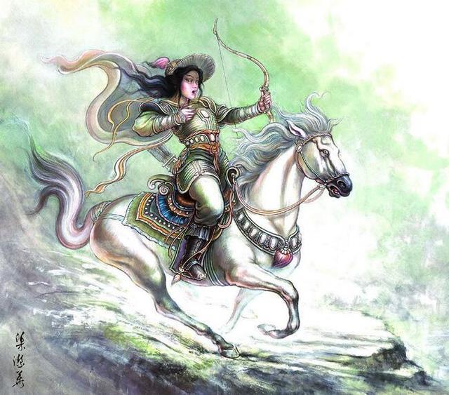 历史上最有名的民族女英雄,值得人敬佩