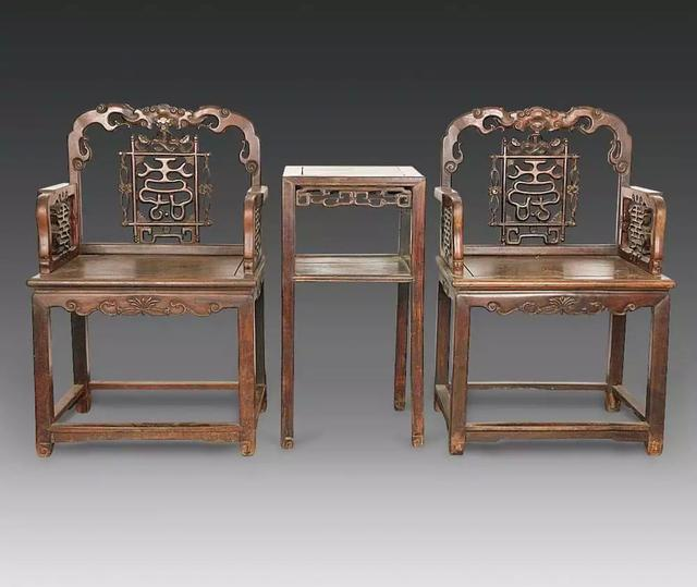 古典家具——人物屁股下的黄金