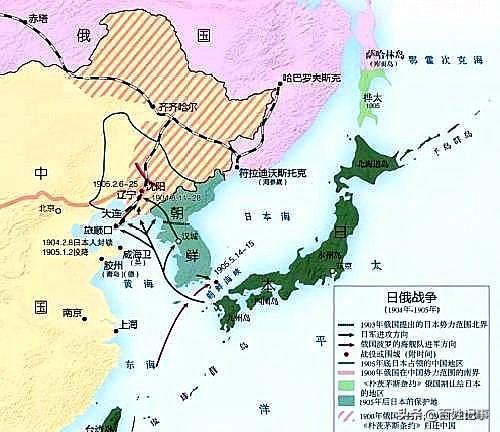 清末,發生在東北的日俄戰爭究是怎么爆發的,日本為何敢叫板沙俄